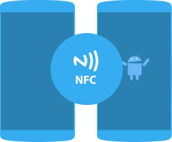 Use NFC to share files between NFC enabled phones